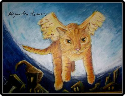 Leyenda sobre los gatos